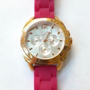 Coach Hot Pink Watch